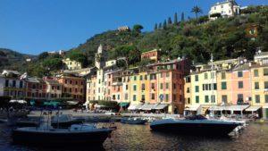 Port de Portofino en famille