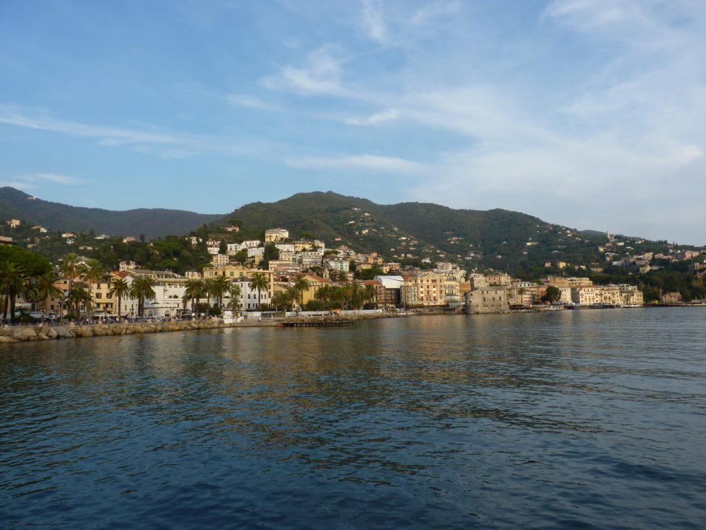 Rapallo Plage Italie