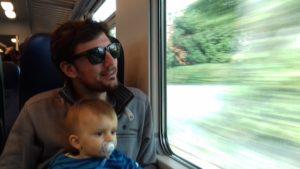 Train Cinque Terre famille