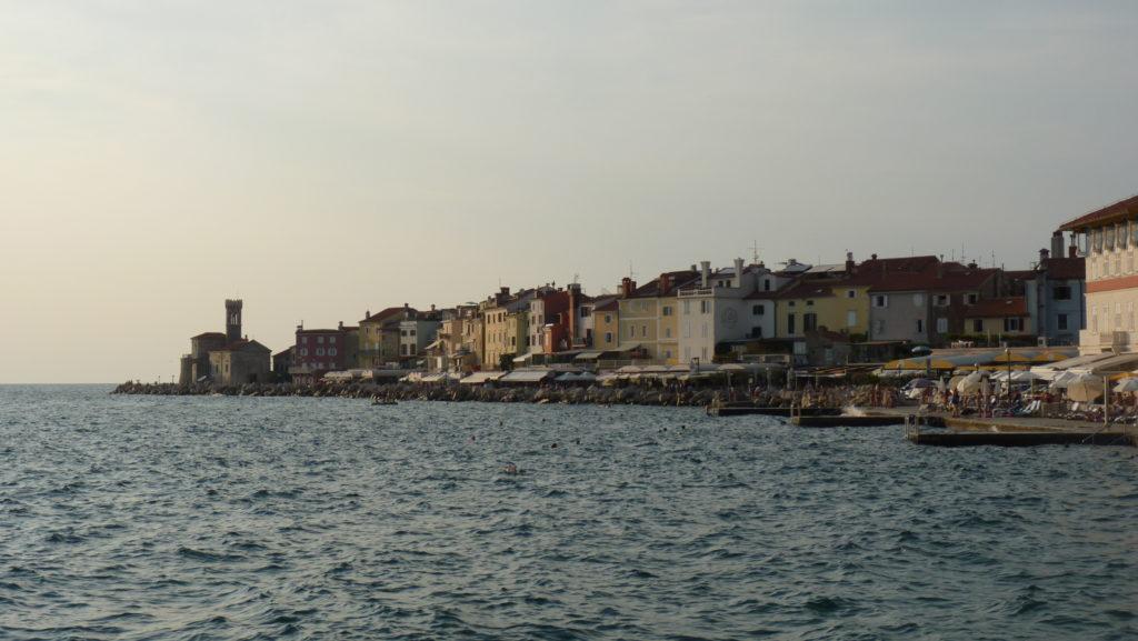 Piran bord de mer