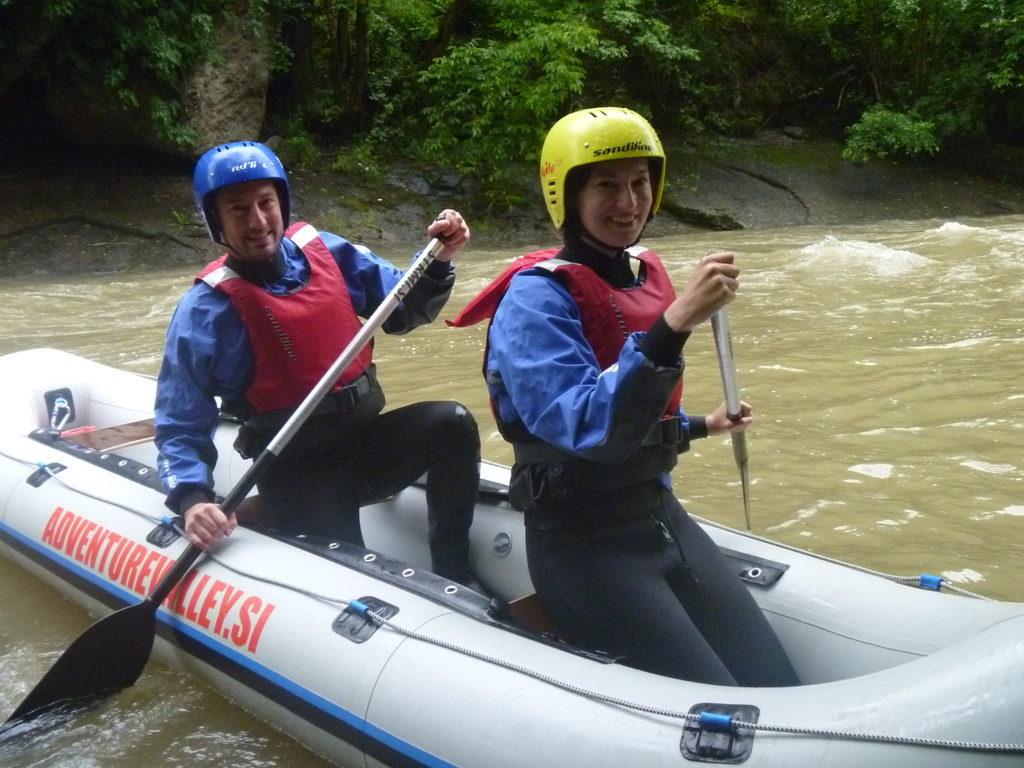 Rafting Savinja