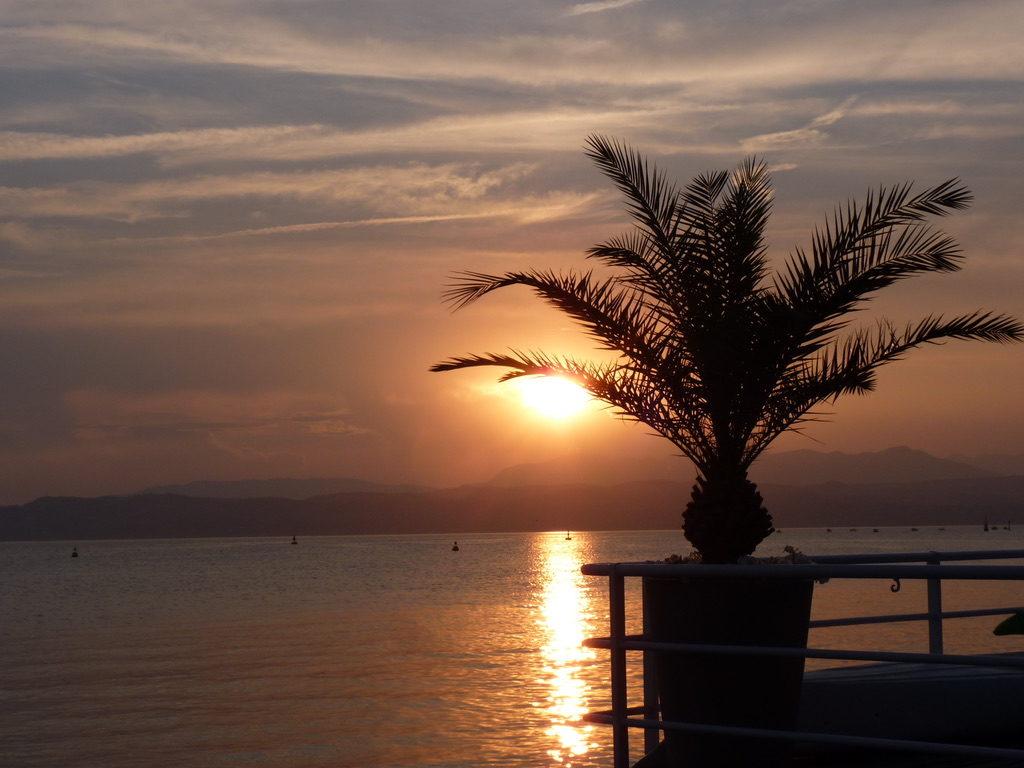 Sirmione coucher de soleil