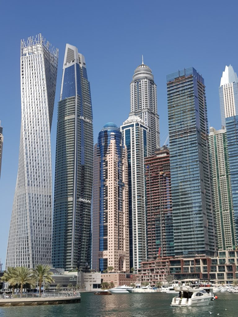 Buldings Dubaï Marina
