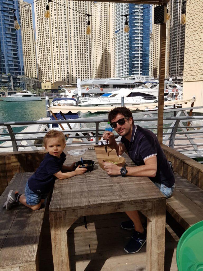 Déjeuner Dubaï Marina