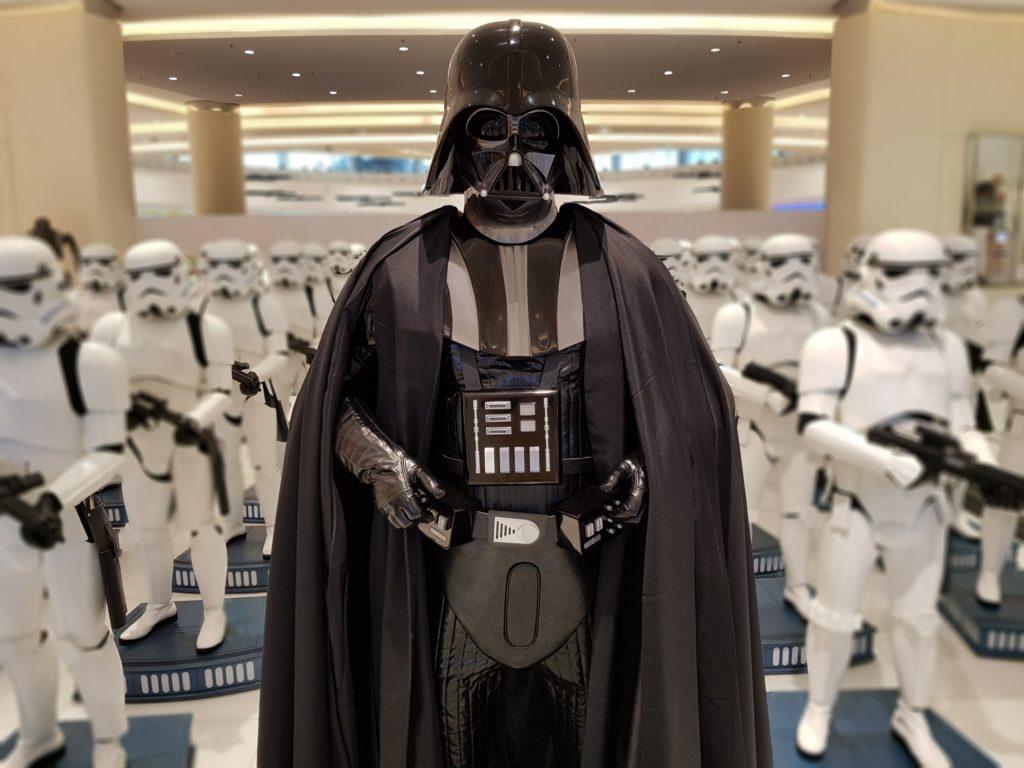 Dubaï Mall Dark Vador