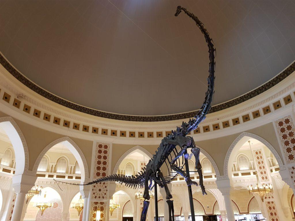 Dubaï Mall squelette