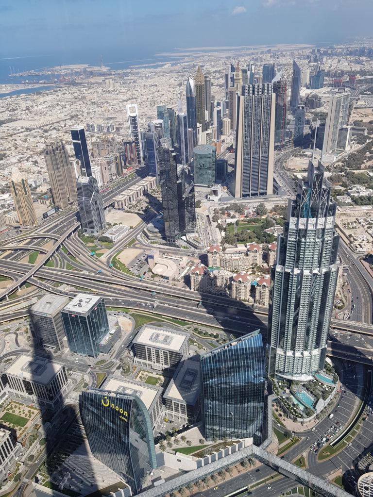 Vue Dubaï
