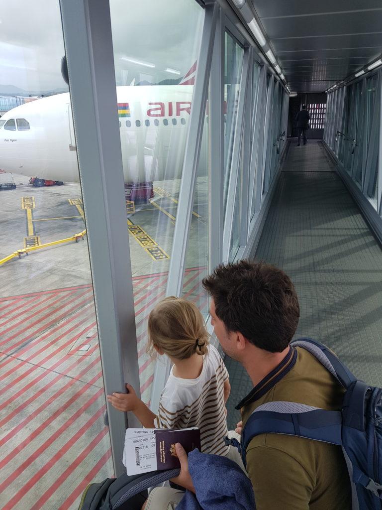 Départ aéroport
