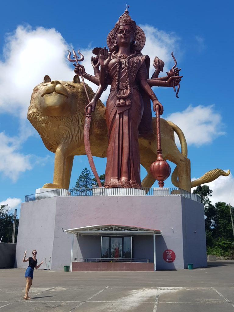 Grand Bassin Statue