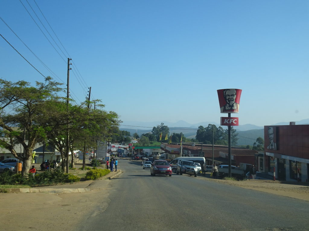 Route Swaziland